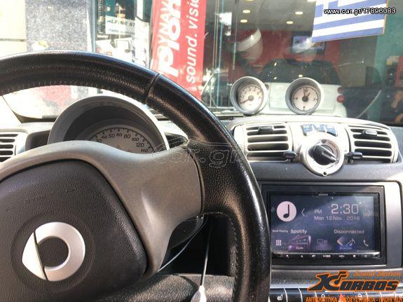 SMART FORTWO-ANDROID AUTO / APPLE CARPLAY ΟΘΟΝΗ KENWOOD DMX7017BTS !!ΑΠΟ ΤΟ  1988 ΚΟΝΤΑ ΣΑΣ!! ΑΔΡΙΑΝΟΘΥΡΩΝ 29 ΔΑΦΝΗ-ΥΜΗΤΤΟΣ www korbos gr - € 599 -