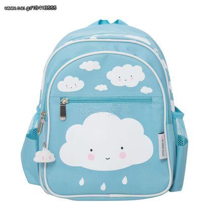 cb5d815973 A Little Lovely Παιδική Τσάντα Πλάτης Clouds Blue BGBL004 - € 21 EUR ...