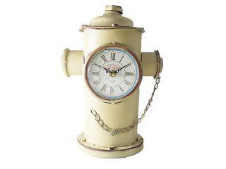 0148ed17d9 Διακοσμητικό Μεταλλικό Vintage Ρολόι σε σχήμα Πυροσβεστικός Κρουνός σε 3  χρώματα