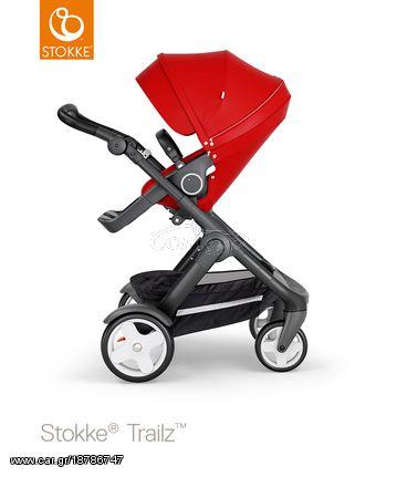 801f8680764 Stokke trailz παιδικό καρότσι red black chassis και Classic wheels Παλιά  Σχεδίαση