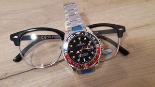 Rolex GMT - Master II Pepsi αυτόματο ΑΑΑ+++ fd03e066397