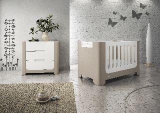 c060c18472e Μετατρεπόμενη Βρεφική Κούνια & Συρταριέρα Casa baby Pearl White Cappuccino