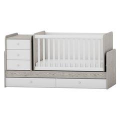 7a0e67be415 Πολυμορφικό Κρεβάτι Κούνια Arbor Baby and Junior Δρυς Λευκός
