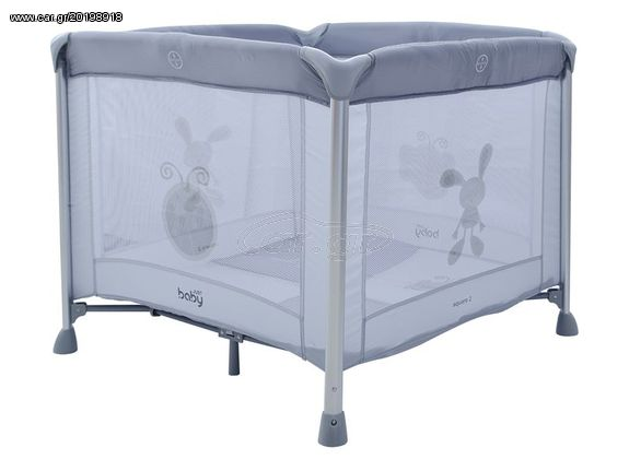 e1da5adc1bf Παρκοκρέβατο Just Baby Square2 Grey - € 78 EUR - Car.gr