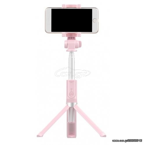 4889d6661b0 WK-Design Selfie stick Control on bluetooth WT-P04 Pink - € 25 EUR - Car.gr