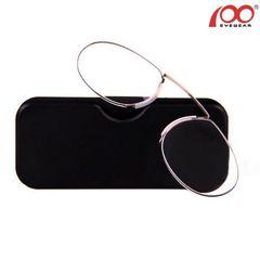 1b3e97e7d5 Γυαλιά Πρεσβυωπίας Τσέπης σε Μέγεθος Πιστωτικής Κάρτας - Nose Clip Reading  Glasses 100Eyewear Γυαλιά Πρεσβυωπίας Τσέπης σε Μέγεθος Πιστωτικής Κάρτας -  Nose ...