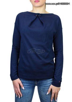 ac9134a4aa63 Γυναικεία Μπλούζα Tommy Hilfiger Navy - € 104 EUR - Car.gr
