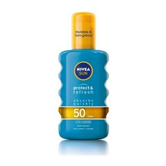 Nivea Sun Protect & Refresh Invisible & Non-Grasy Sun Spray Spf50 200ml