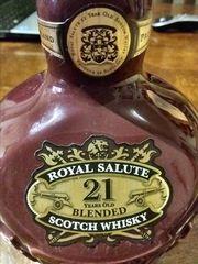 CHIVAS REGAL ROYAL SALUTE 21 years old !
