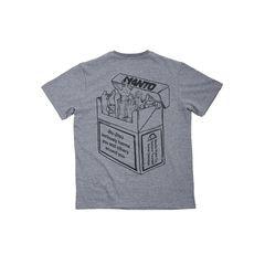3362501f6627 MANTO warning Tshirt-grey