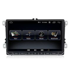 OEM ANDROID 8  9INCH HD TOUCHSCREEN BLUETOOTH VW SEAT SKODA ...