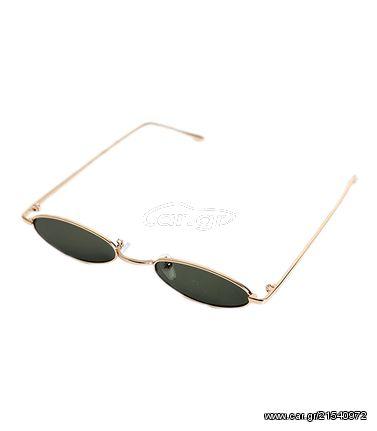 0e5499ebd2 Γατίσια γυαλιά ηλίου με πράσινο φακό και χρυσό σκελετό - € 22 EUR ...