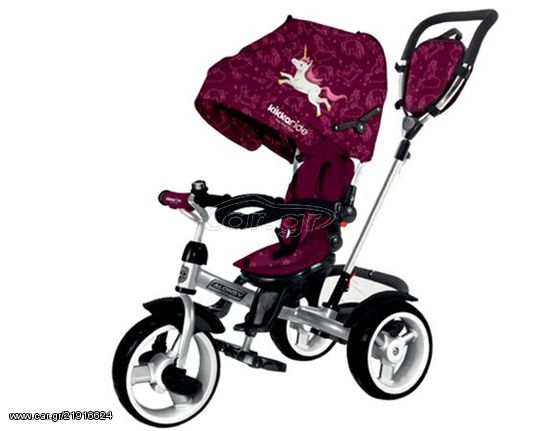 fc001015647 Kikkaboo Ποδηλατάκι Τρίκυκλο Alonsy 3 Σε 1 Unicorn 31006020055 Παλιά  Σχεδίαση