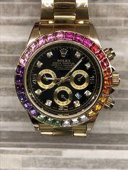 791e55cdd1 Rolex Daytona Rainbow Gold Cosmograph Diamonds