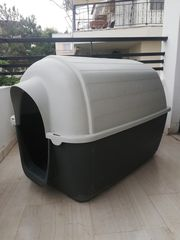 198ddffb95e0 Πλαστικό Σπιτάκι Σκύλου μεγαλου μεγεθους Ferplast kenny 05 plastic kennel 05
