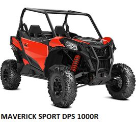 CAN-AM  MAVERICK SPORT DPS 1000 MODELS