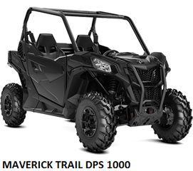 CAN-AM  MAVERICK TRAIL DPS 1000 MODELS