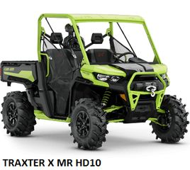 CAN-AM  TRAXTER HD10 2020 MODELS