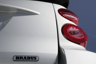 BRABUS - ΣΗΜΑ ΠΡΟΦΥΛΑΚΤΗΡΑ ΠΙΣΩ - SMART FORTWO 451