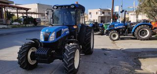 New Holland  T4.75F CAB 4WD 28X16 CR