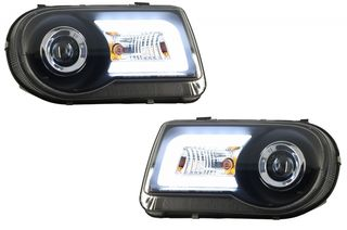 LED Headlights suitable for CHRYSLER 300C (2005-2010) Xenon ...