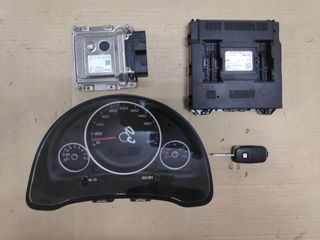 Σετ εγκεφάλου (Ecu kit)  VW Up/Seat Mii/Skoda Citigo 2012-20...