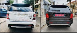 RANGE ROVER SPORT REAR TRUNK TAILGATE look FACELIFT / ΠΙΣΩ Φ...