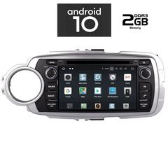 MULTIMEDIA  OEM  TOYOTA YARIS mod. 2011>  ANDROID 10 – CPU ...