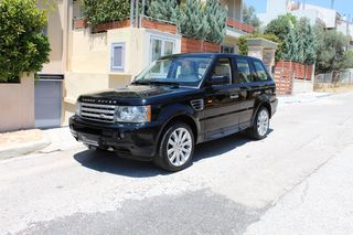 Land Rover Range Rover Sport 4.2 V8 SUPERCHARGED ΟΡΟΦΗ DVD