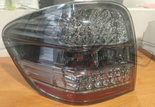 MERCEDES BENZ ML W164 TAILLIGHT LEFT BLACK / TINTED -ΠΙΣΩ ΦΑ...