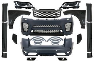 Complete Body Kit with LED Headlights suitable for Range Rov...