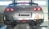 FULL EXHAUST FOR GTR R35 NISSAN  SKYLINE BY TOPGEAR.