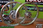 X-135 ALL NICKEL RACING BOY WHEELS