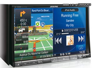 "MULTIMEDIA ΟΘΟΝΗ 8"" DVD MP3 USB GPS ALPINE INE-W928R ....Sou..."