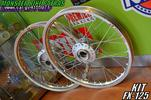 FX RACING WHEELS (ALL SILVER)