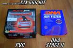 POWER COMMANDER PCV XTX 660 KIT+DNA STAGE 2 AIR FILTER