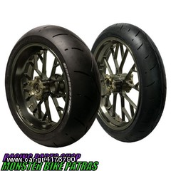 Excel Pro Series Magnum Gray Complete Wheel Set