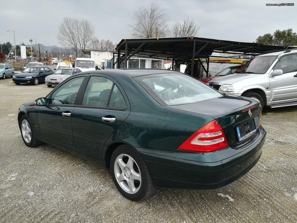 Mercedes benz c 200 51000km original 39 2002 6500 0 eur for Mercedes benz 6500