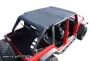 Roll Bar Top Diamond Black Wrangler 2d 07-08