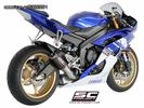 Εξάτμιση Τελικό Sc Project CR-T  Full Titanium High position YAMAHA  R6  2007-2014(ψηλή τοποθέτηση)Racing use Only - € 440 EUR