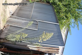 GARAGE DOOR STAINLESS GALVAN GERMANY