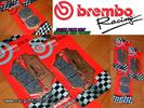 BREMBO BRAKE PADS KIT FOR GP-800