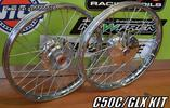 C50C/GLX ALL NICKEL WHEELS