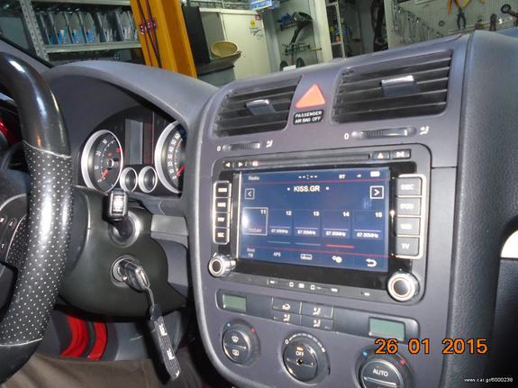 dynavinstore gr DYNAVIN N6-VW ΤΟΠΟΘΕΤΗΜΕΝΗ ΣΕ GOLF 5 GTI     - Ask