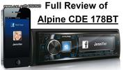 RADIO CD/MP3/USB/BT Alpine CDE-178BT (Ατοκες Δοσεις ) eautos...