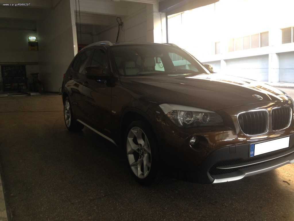 bmw x1 xdrive diesel 4x4 euro 5 39 09 eur. Black Bedroom Furniture Sets. Home Design Ideas