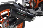 Εξάτμιση Τελικό Gpr Furore Carbon Look KTM DUKE 390 2013> Catalyzed - € 359 EUR