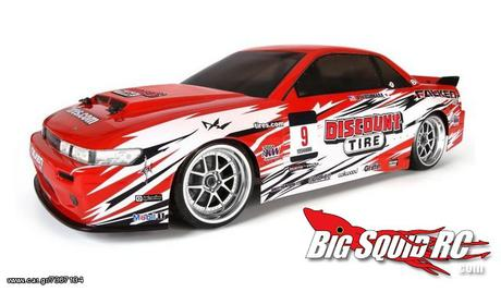HPI  E10 DRIFT RTR WITH NISSAN S-13 '15 - 180 EUR