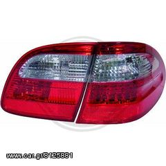 MERCEDES E-CLASS W211  ΦΑΝΑΡΙΑ ΠΙΣΩ LED WHITE-RED(ΑΣΠΡΑ-ΚΟΚΚΙΝΑ)