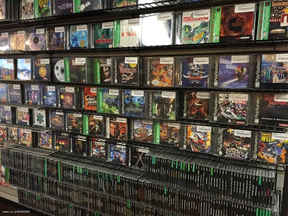 PS3 + PS2 + PS1 Games (+ κονσόλες) τα πάντα list - € 3,10 - Car gr